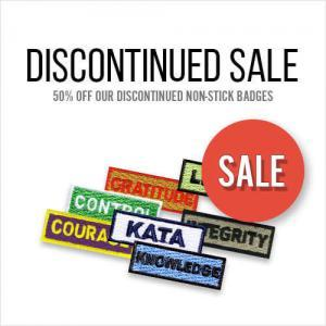 Discontinued Badges